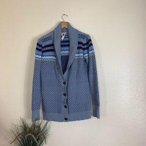 Roxy Knit Button Down Cardigan